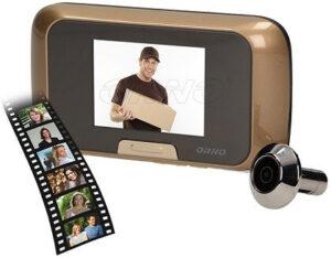 Ajtókitekintős videó kaputelefon 2.8 col monitorral