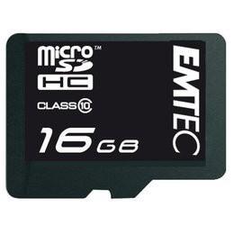 16 GB Class 10 memóriakártya + átalakító