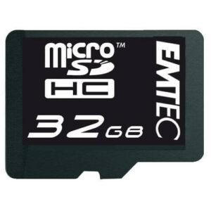 32 GB Class 10 memóriakártya + átalakító